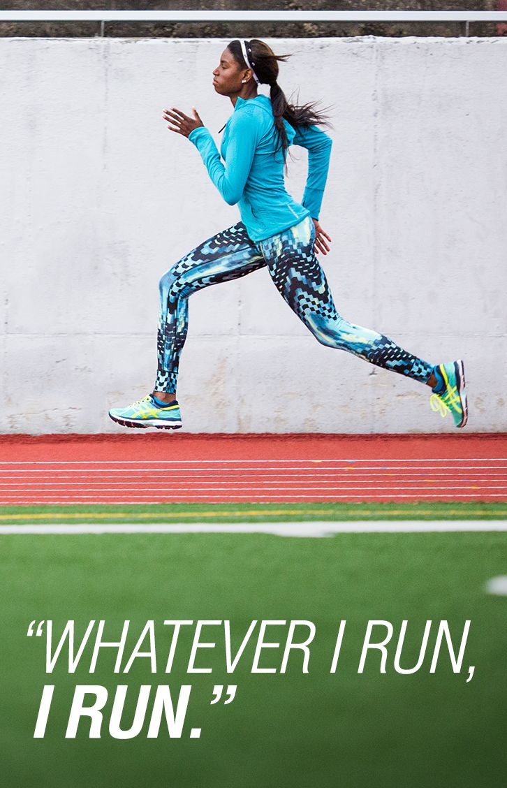 Our ASICS Elite Sprinter, Candace Hill, is inspiring limitless performance.