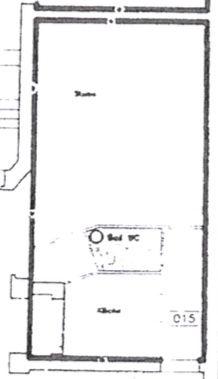 Vermietete 1-Zimmer-Wohnung in Berlin Kreuzberg