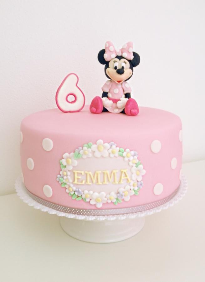 Minnie Mouse Cakes Photos