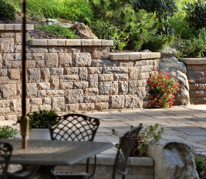Quarry Stone retaining wall
