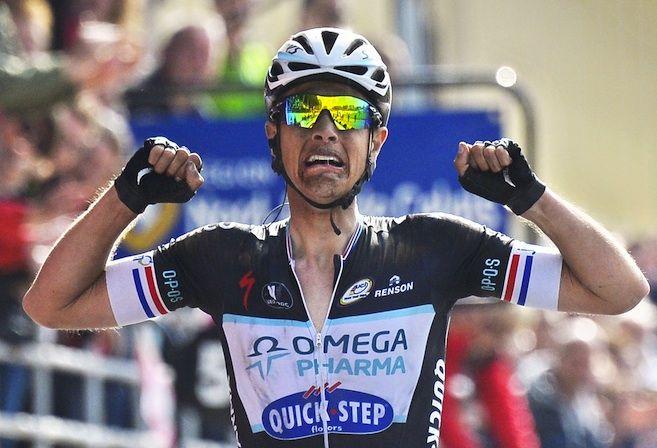 Niki Terpstra wint de klassieker Parijs-Roubaix in 2014