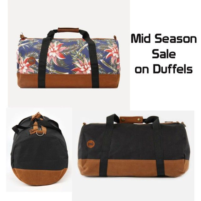 mid season sale is on. Get your #mipac duffel now from #DistrictConceptStore Xar. Trikoupi 34-36 Ioannina Greece. Official online retailer of mi pac greece