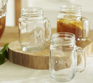 mason jar mug potterybarn - Mason Jar Glasses
