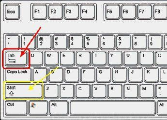 Non è uno scherzo basta provare, scrivete nella barra degli indirizzi il link del sito www.infermieriattivi.itdi solito non bisogna nenache completare la scrittura, poi si clicca il tasto TAB.Il tasto è quello a sinistra con le due freccette come da immagine sotto.La barra de