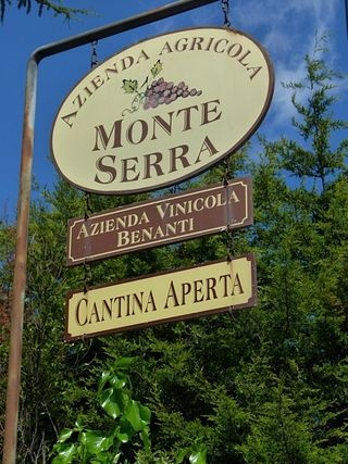 Benanti is one of the premier Mt. Etna wineries, and we were excited to see the winery and taste the wine