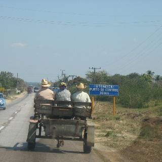 Local transport near carmeguey Cuba