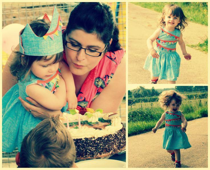 Mooi kleedje voor een verjaardagsfeest