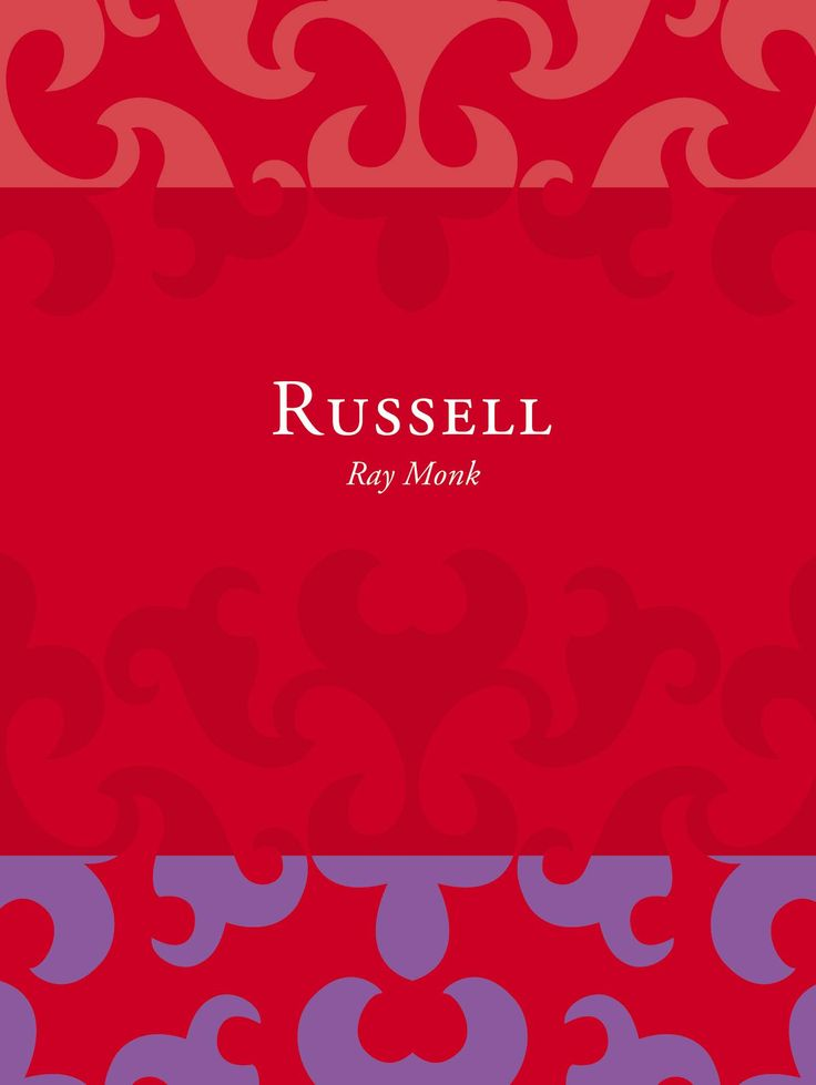 Title: Russell | Author: Ray Monk | Designer: