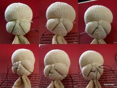 Craftster tutorial: Dimples and Opposable Thumbs for soft doll - TOYS, DOLLS AND PLAYTHINGS