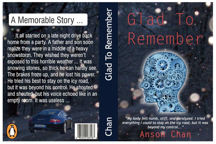 Glad to Remember - Book Cover - Anson