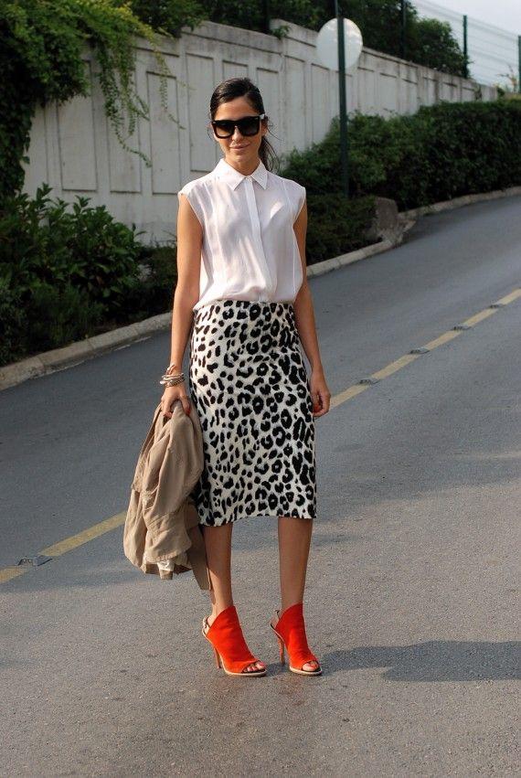 Spirited Route: Luxury Shoppers: Lian Kebudi & Ezgi Kiramer    I'm a sucker for leopard print . . . anything.
