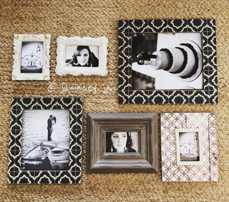 #frames #photos #black #brown #offwhite #gifts #homewares #layout #quinceyjac