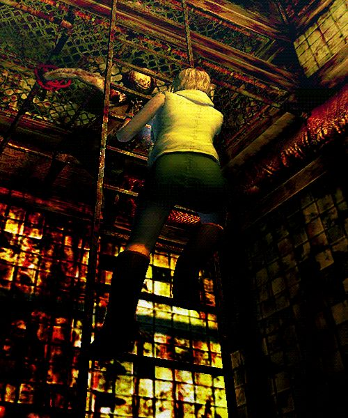 Heather encounters Valtiel in Silent Hill 3