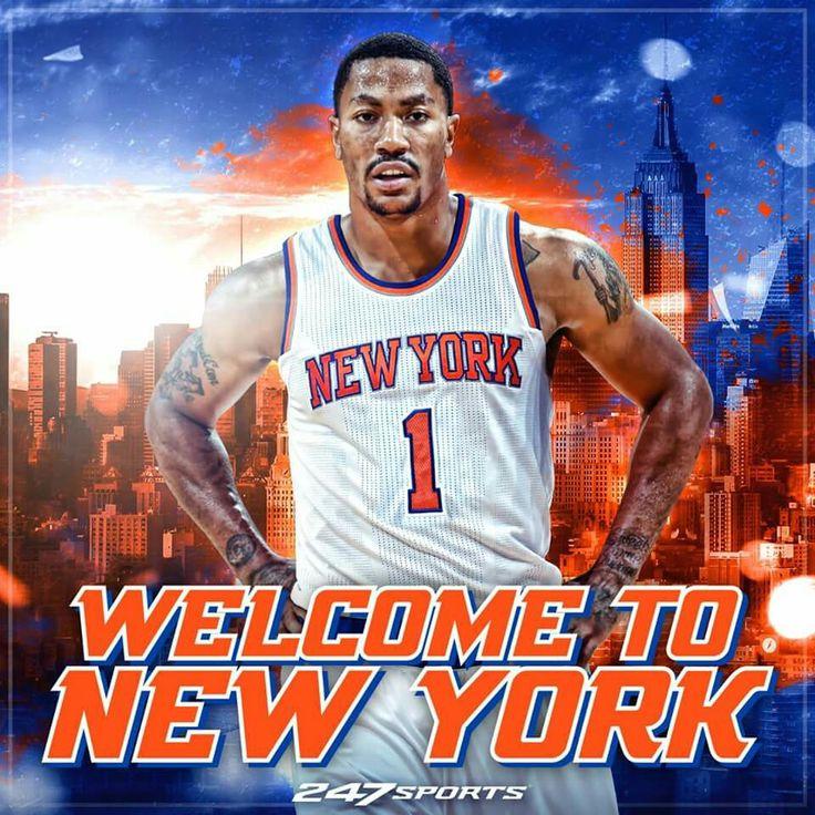 130 best basketball related images on pinterest - Derrick rose wallpaper knicks ...