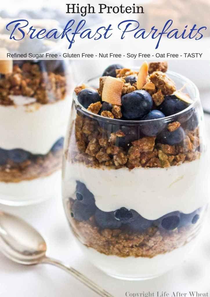 High Protein Breakfast Parfait Gluten Free Life After Wheat