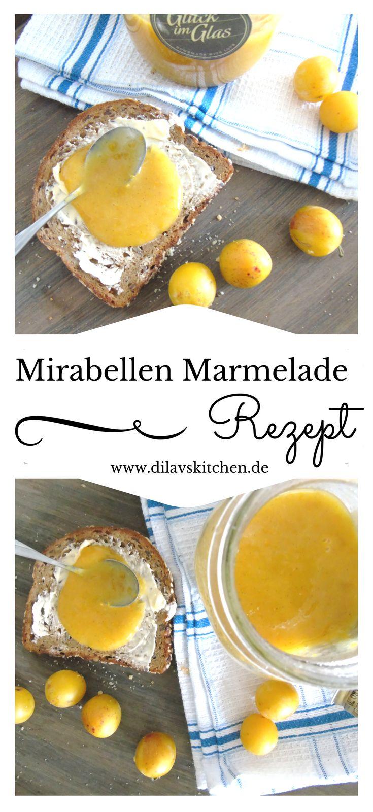 Mit der leuchtend gelben Mirabellen Marmelade holst du dir den Sommer aufs Brot: www.dilavskitchen.de   #rezept #foodblog #marmelade #konfitüre #mirabelle #mirabellenmarmelade #selbstgemacht #diy