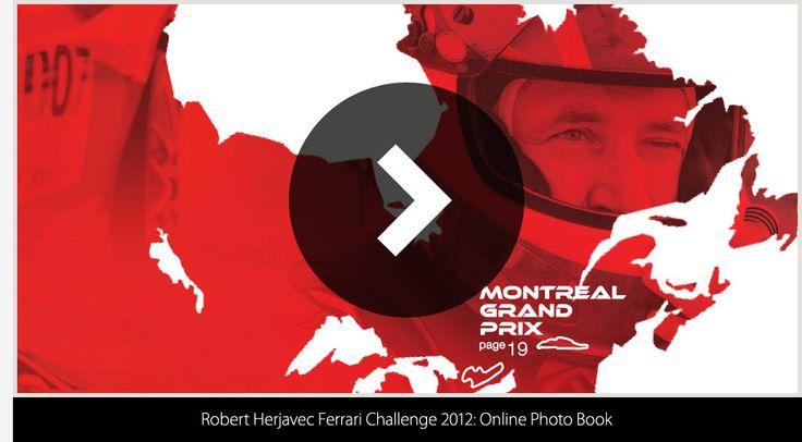Robert Herjavec Ferrari Challenge 2012 Location