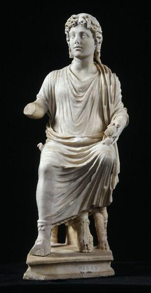 Cristo docente, marmo, III sec d.C, Museo della Civiltà romana. Roma.