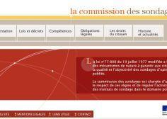 Sondages présidentielle 2017: la mise en garde de la Commission des sondages