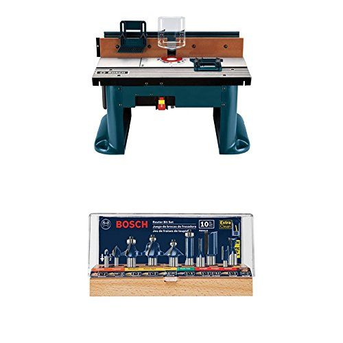 Best 25 bosch router table ideas on pinterest router table diy bosch ra1181 benchtop router table w router bit set greentooth Images