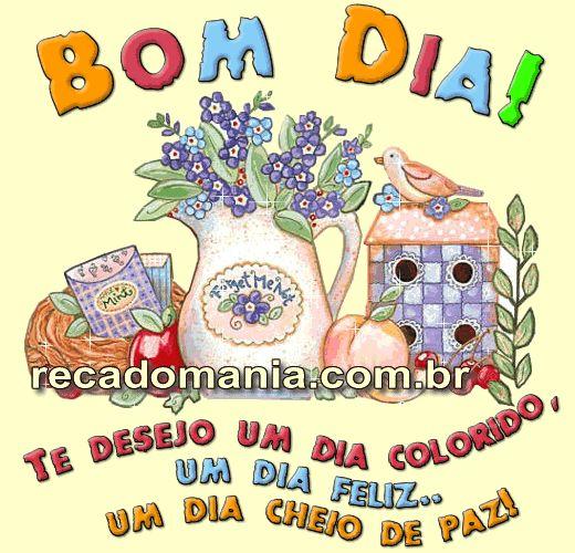 Bom Dia - Imagens E Recados De Bom Dia