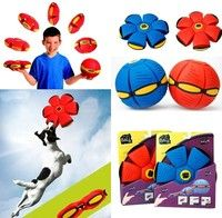 *Color:Red,Blue  * The latest UFO ball, let us accompany children outdoors to Play it .  * Throw Dis
