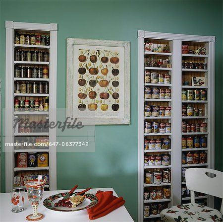Light Green Walls Side Wall And Food Items On Pinterest