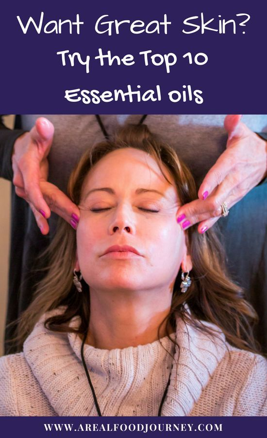 Learn about the top essential oils for skincare!
