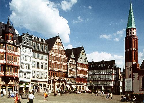 Römerberg - frankfurt