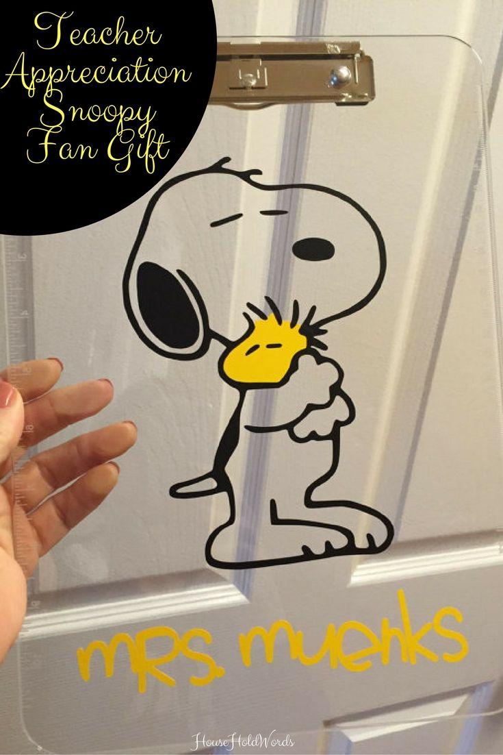 Snoopy Woodstock Gift Clipboard Teacher Appreciation gift , Teacher gift, Teacher Appreciation Snoopy Fan Gift, clear or storage clipboard #ad