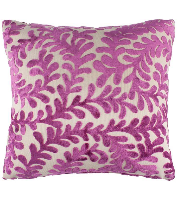 Berkley Scroll Berry Cushion - 40cm x 40cm - Cushions