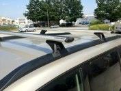Nissan Xtrail with a Rhino Rack system.  #hitchngear