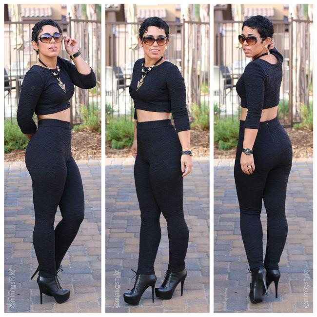 #DIY Black on Black Look
