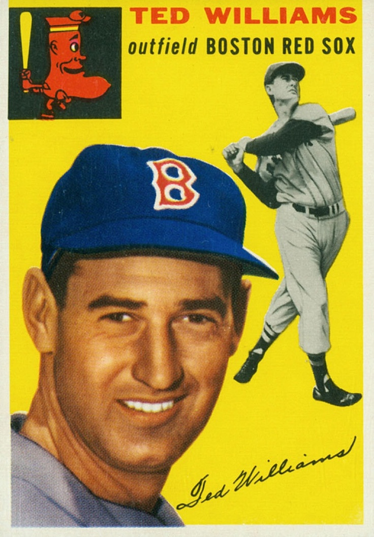 Ted Williams Topps (1954) #001