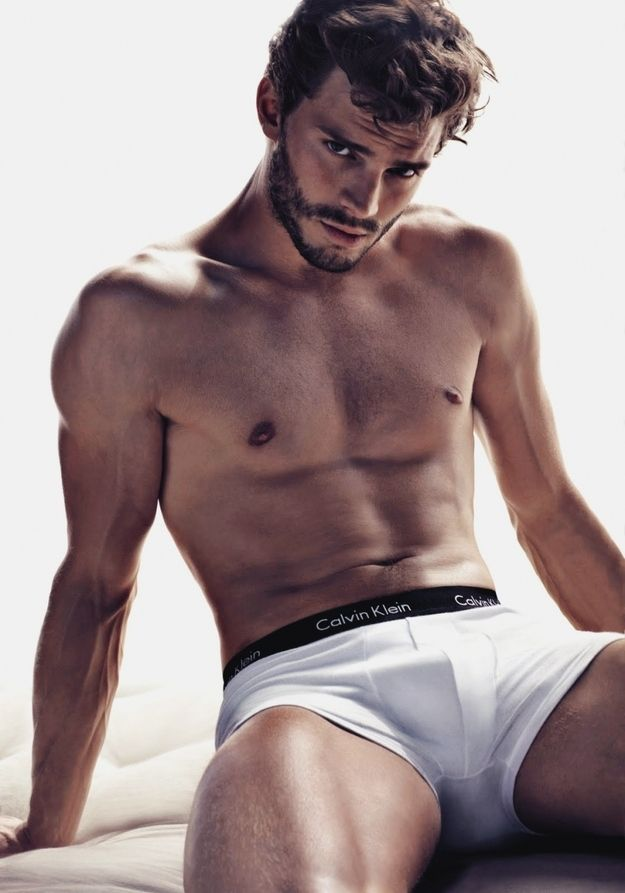 I don't actually want this to happen but jamie is yum. | Here's Why Jamie Dornan Should Be The New Christian Grey
