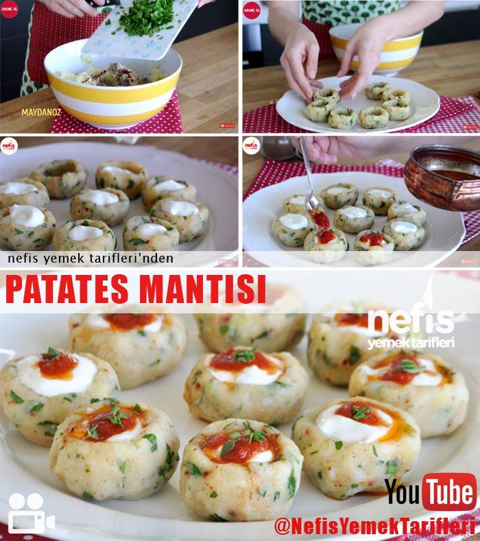 Patates Mantısı Nasıl Yapılır