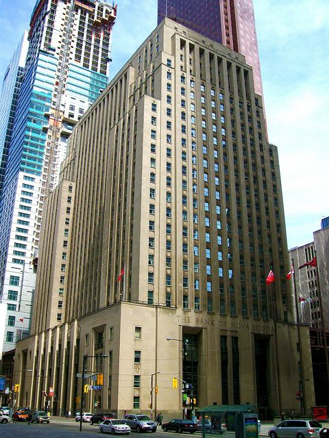 Bank of nova scotia building toronto ontario flickr photo sharing canadian artart deco designnova scotiaontariotoronto
