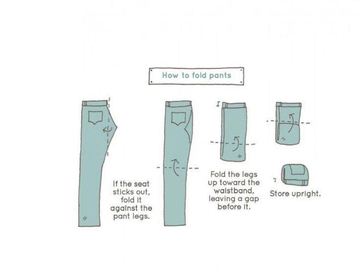 PHOTO: Spark Joy author Marie Kondo shares her efficient tricks for folding.