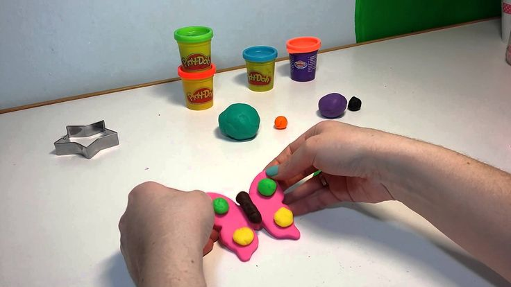 Play Doh Shapes. Butterfly, Star, Teddy Bear, Dog!