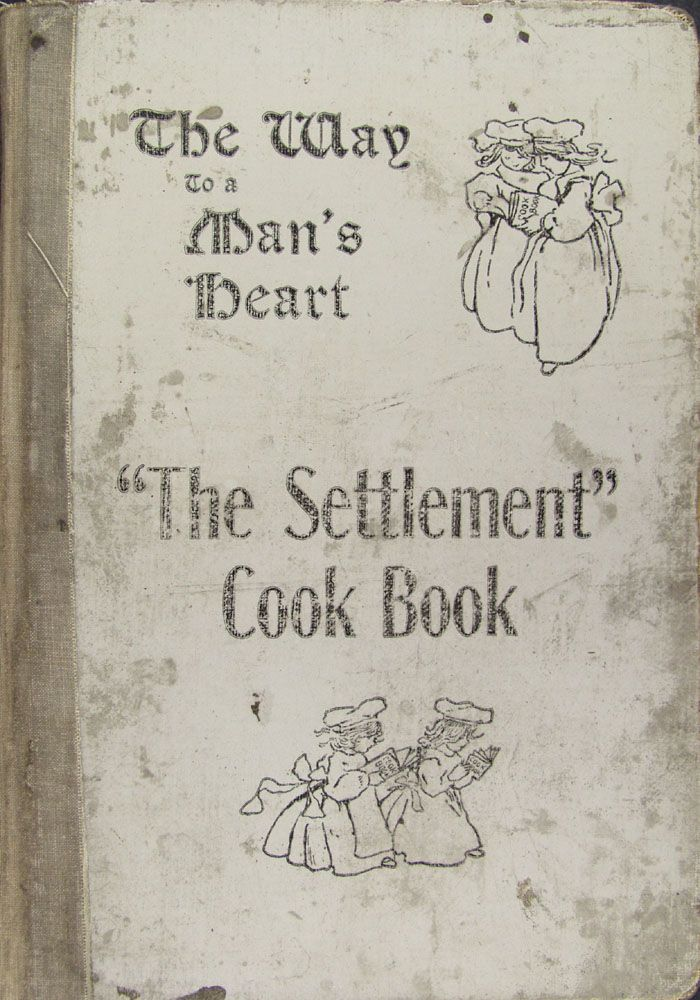 """The Settlement Cook Book"" By Mrs Simon Kander (1901) Published By J H Yewdale & Sons Company"