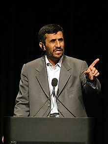 Mahmoud Ahmadinejad - Wikipedia, the free encyclopedia