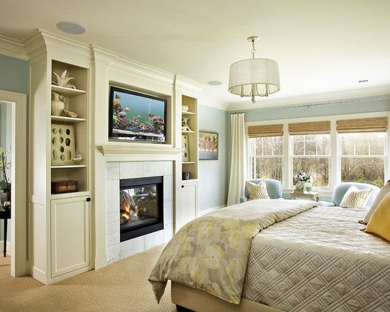 100 best dream home bedroom images on pinterest Bedroom fireplace ideas
