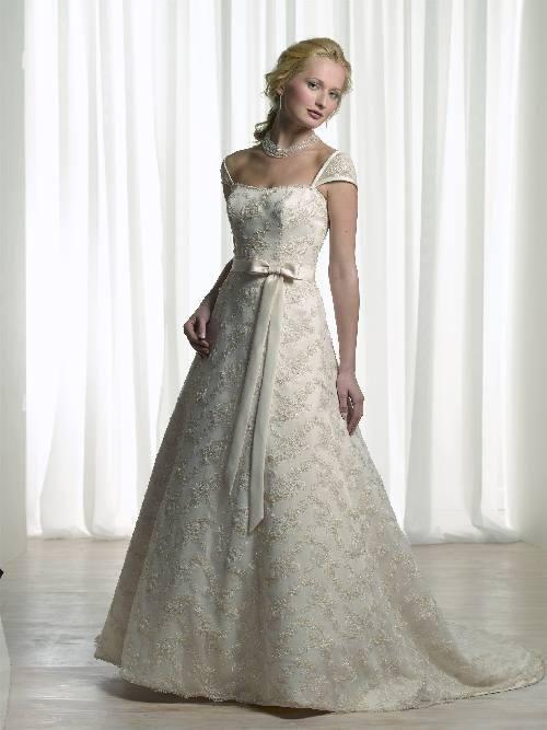 Robe de mariée de nouveauté avec ceinture