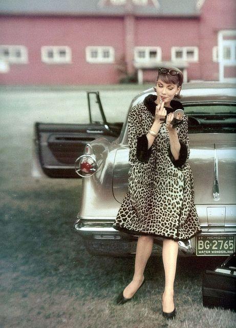 Vogue • October 1959 • Photo by John Rawlings