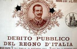 L'Italia e la crisi del debito