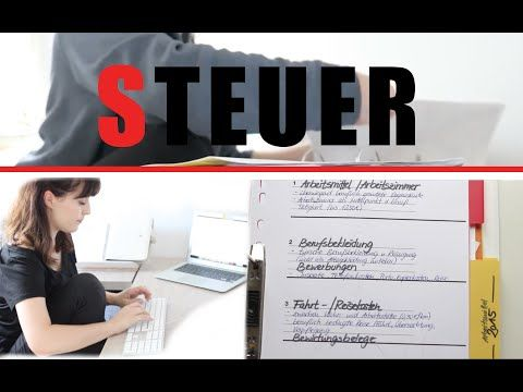 STEUER UNTERLAGEN SORTIEREN LEICHT GEMACHT - YouTube