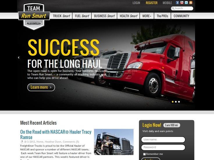 Top 10 Kentico Websites for July 2012 http://devnet.kentico.com/Blogs/Lenka-Navratilova/August-2012/Top-10-Kentico-Websites-for-July-2012.aspx Freightliner Trucks – Team Run Smart Community  Implemented by:  Burns Marketing, USA  Kentico Gold Partner