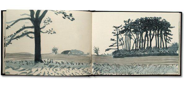 Hockney: Yorkshire Sketchbook