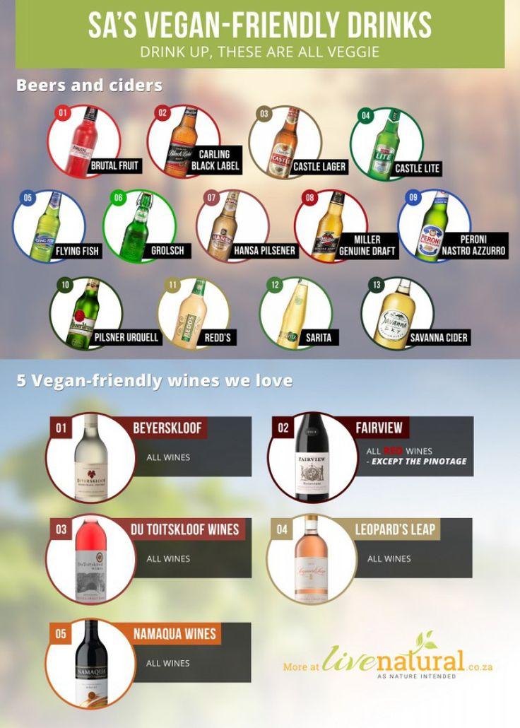 vegan-friendly drinks in South Africa