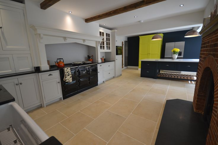A wonderfully spacious kitchen that we've designed with both modern and classic features, to create a rustic country feel with a stylish and luxurious finish. #joinery #kitchen #heartofthehome #sussex